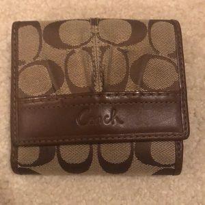 Authentic Classic Coach Wallet